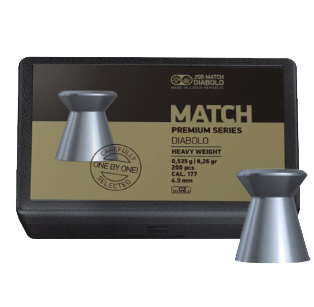 Diabolky JSB Match Premium Series Heavy 4,50mm 200ks
