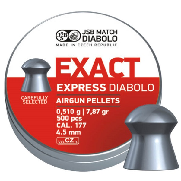 Diabolky JSB Exact Express 4,52mm 500ks