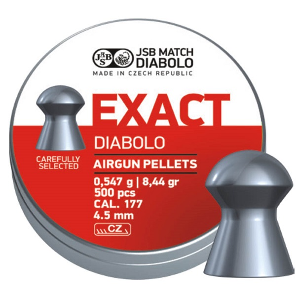 Diabolky JSB Exact 4,53mm 500ks