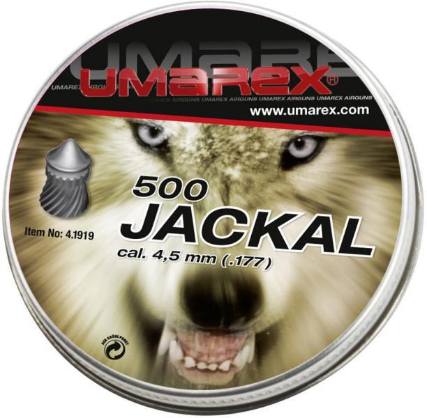 Diabolky Jackal 4,5mm 500ks