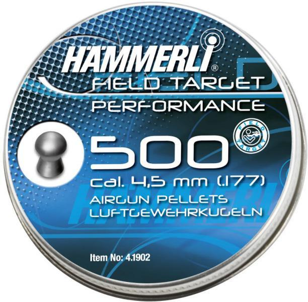 Diabolky Diabolo Hämmerli FT Performance 4,5mm 500ks
